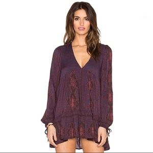 Free People Down By The Bay Dusk Tunic • Size XS
